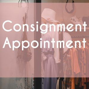 Consignment Appointments