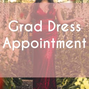 Grad Dress Appointments