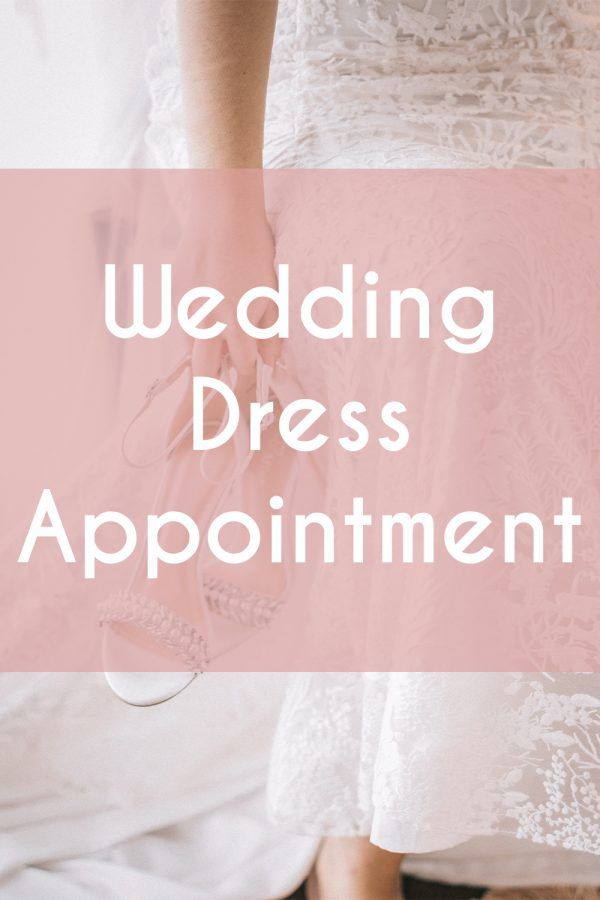 Wedding Dress Appointments