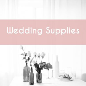 Wedding Supplies