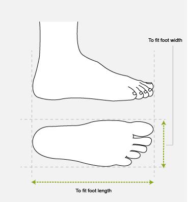 Men's Shoes Size Chart